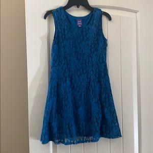BeBop girls lace dress size medium 10/12